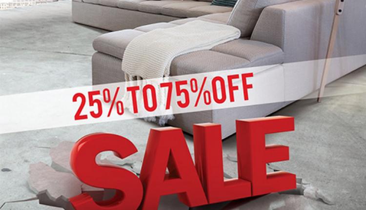 25% - 75% Sale at ID Design, June 2014