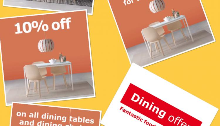 Up to 10% Sale at IKEA, May 2018