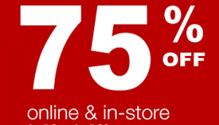 Up to 75% Sale at Irony Home, April 2016