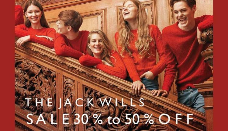 30% - 50% Sale at Jack Wills, February 2016