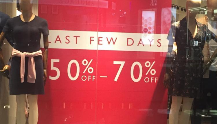 50% - 70% Sale at Jack Wills, May 2017