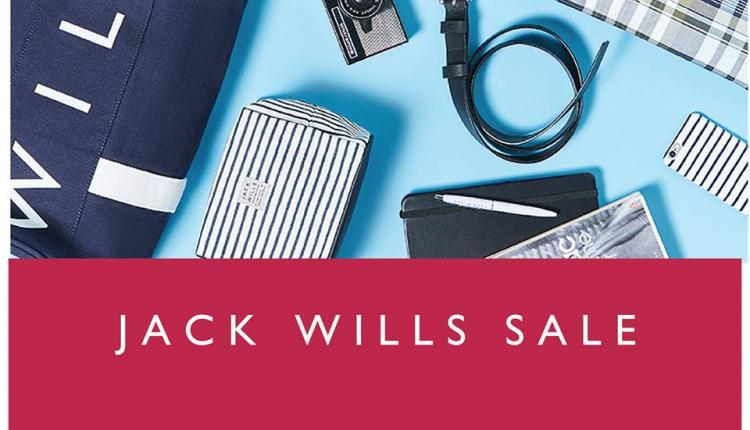 30% - 70% Sale at Jack Wills, August 2017