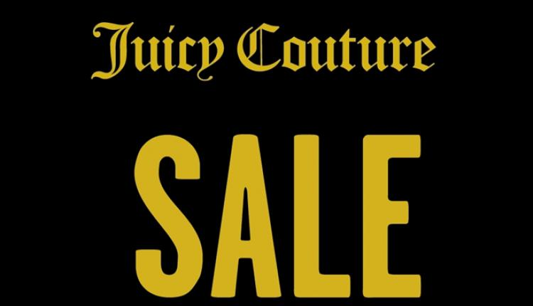 25% - 50% Sale at Juicy Couture, April 2017