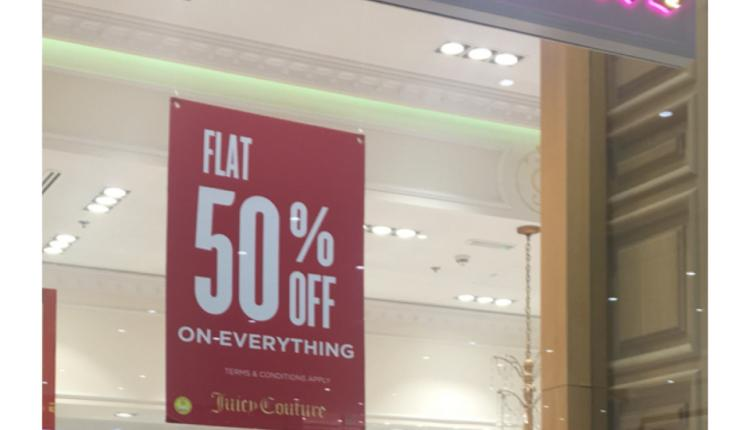 Up to 50% Sale at Juicy Couture, May 2018