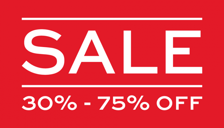 30% - 75% Sale at Koton, August 2018