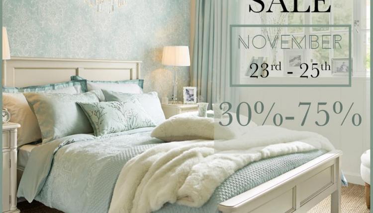30% - 75% Sale at Laura Ashley, November 2017