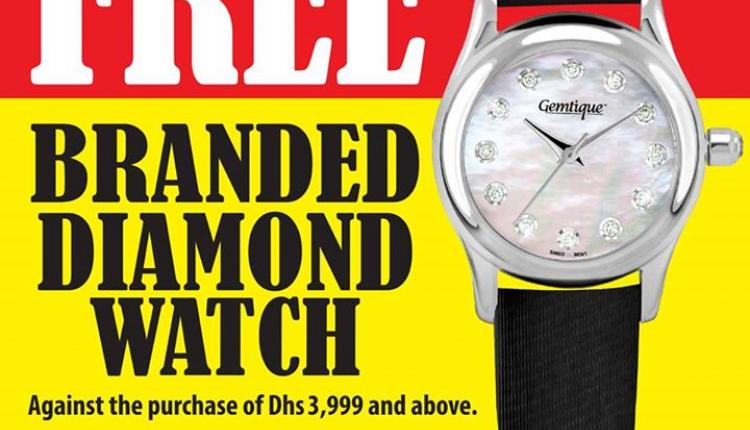 Spend 3999 and get FREE branded Diamond Watch Offer at LifeStyle Fine Jewellery, May 2017