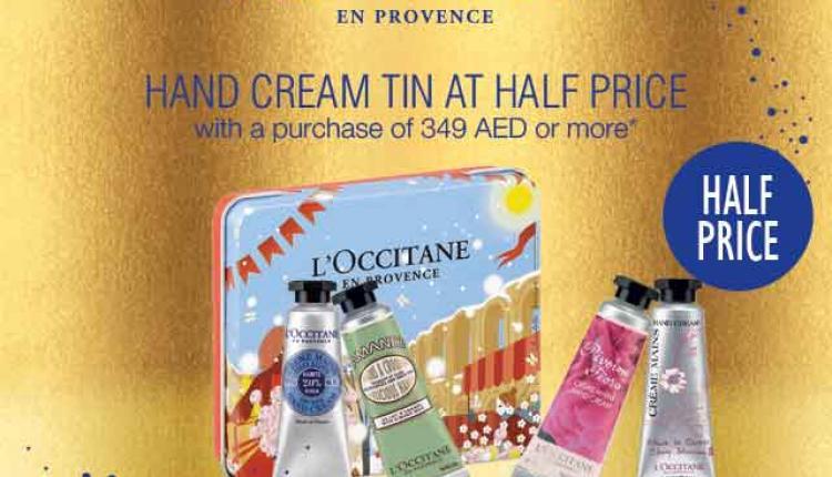 Special Offer at L'occitane, December 2014