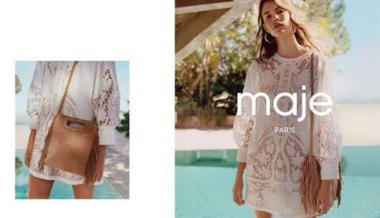 Spend 1200 and receive an exclusive gift. Offer at MAJE, October 2017