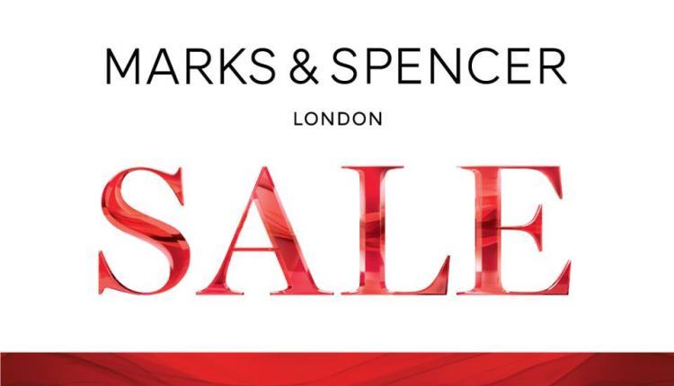 Up to 50% Sale at Marks & Spencer, October 2017