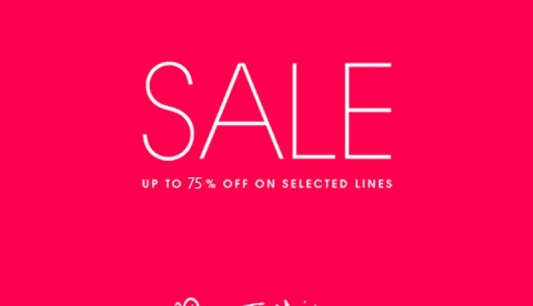50% - 75% Sale at Miss Selfridge, May 2018