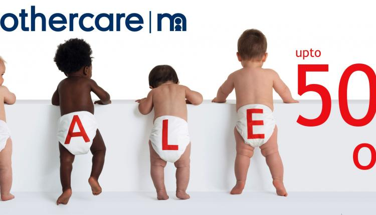 Up to 50% Sale at Mothercare, December 2015