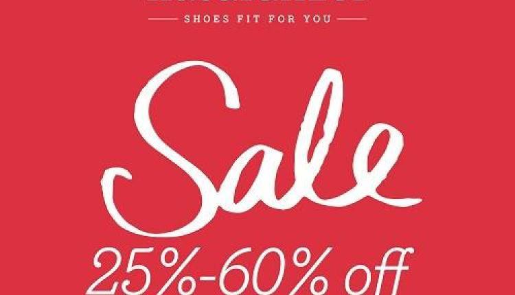 25% - 60% Sale at Naturalizer, January 2017
