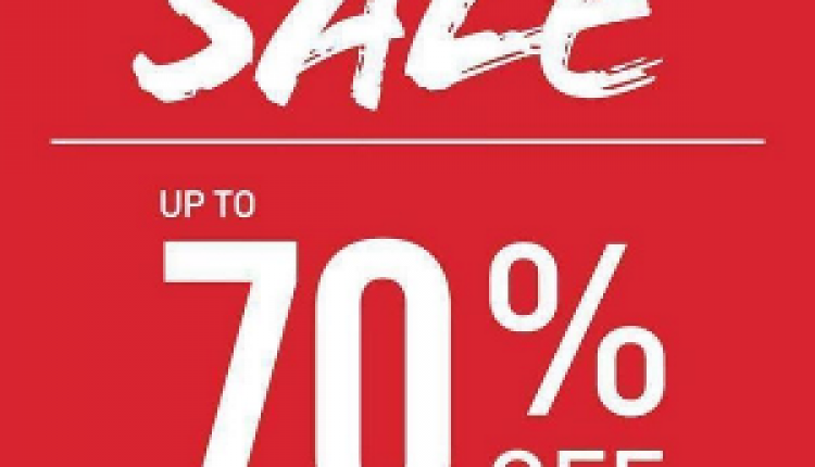 Up to 70% Sale at New Look, June 2016