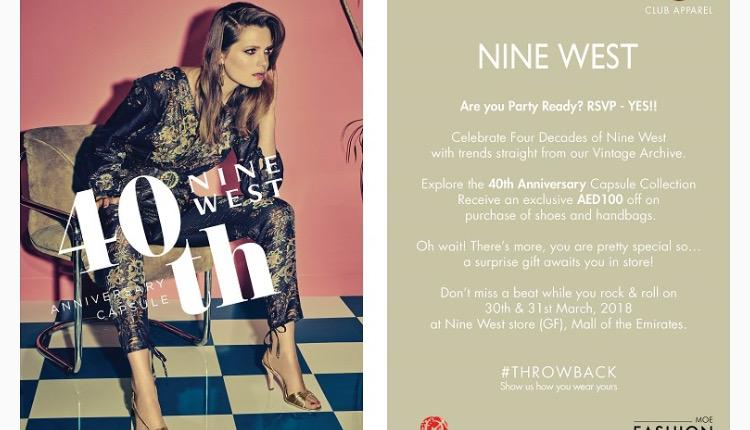 Special Offer at Nine West, March 2018