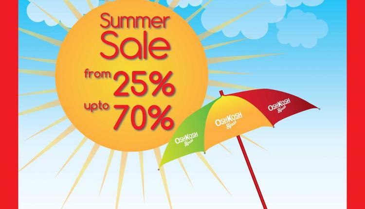 25% - 70% Sale at Osh Kosh B'gosh, June 2014