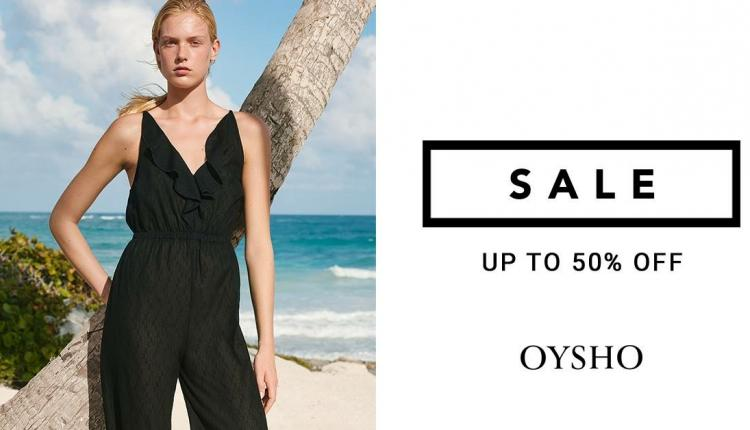 30% - 50% Sale at Oysho, August 2017