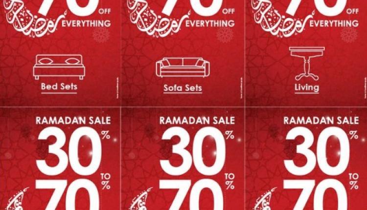30% - 70% Sale at PAN EMIRATES, June 2017