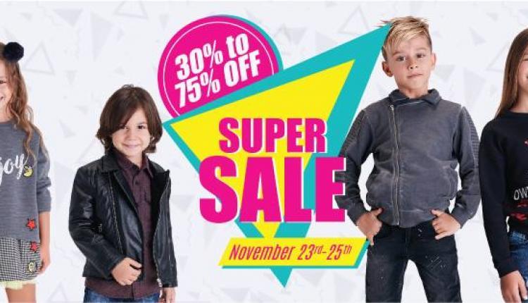 30% - 75% Sale at Panco, November 2017