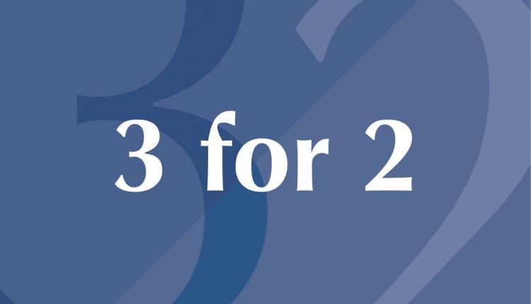 Buy 2 and get 1 Offer at Pandora, November 2017
