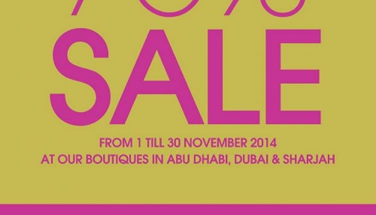 Up to 70% Sale at Patchi, November 2014