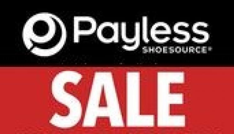 Up to 50% Sale at Payless, March 2018