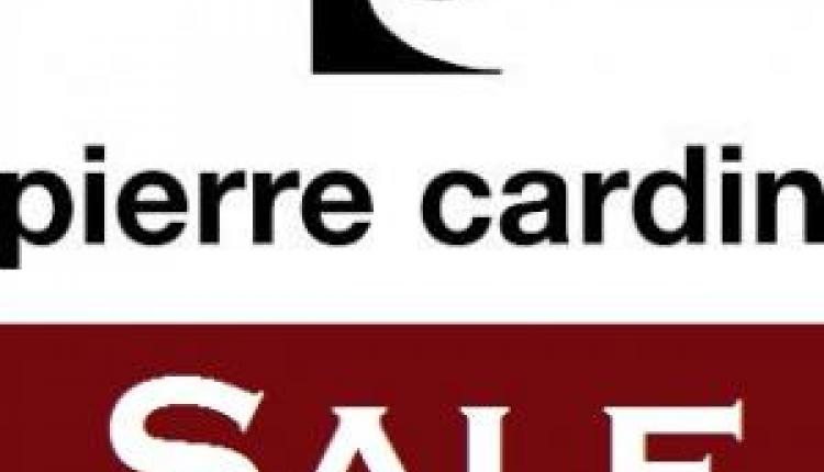 Up to 90% Sale at Pierre Cardin, December 2016