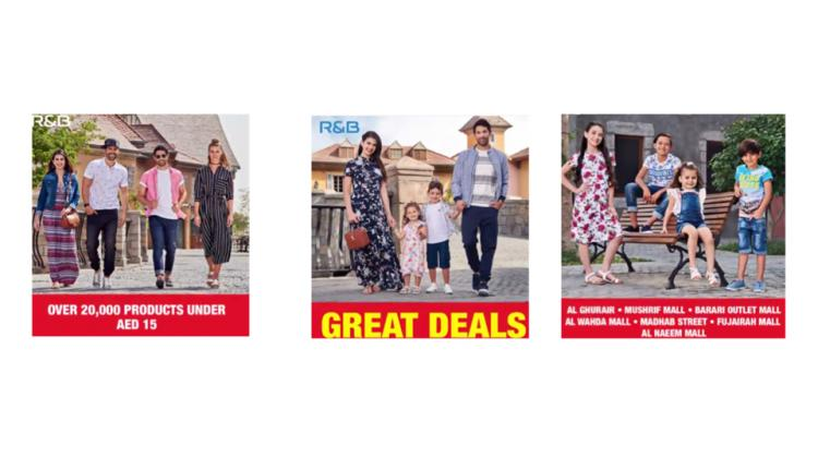 Special Offer at R&B, August 2018