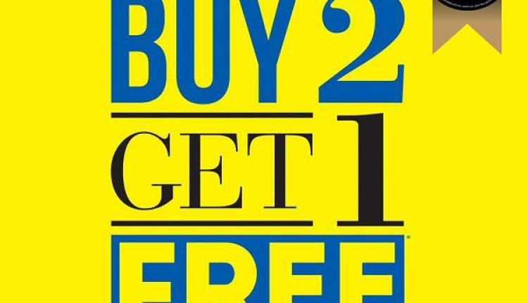 Buy 2 and get 1 Offer at Red Tag, December 2016
