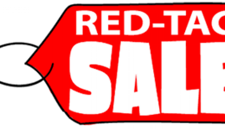 25% - 75% Sale at Red Tag, February 2016