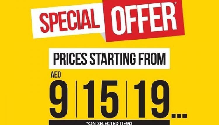 Special Offer at Red Tag, September 2016