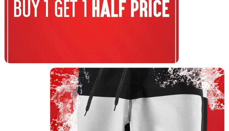 Buy 1 And get 1 half price Offer at Rip Curl, October 2017