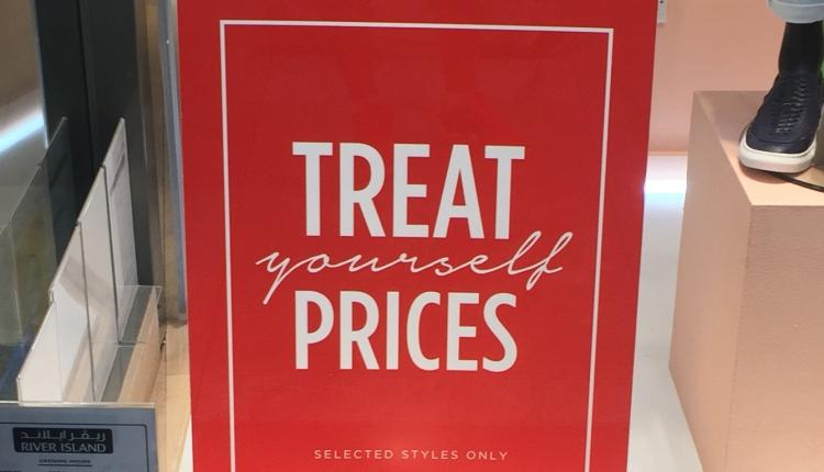 Special Offer at River Island, May 2018