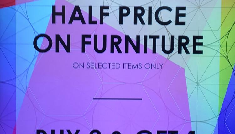 Special Offer at Robinsons, September 2017