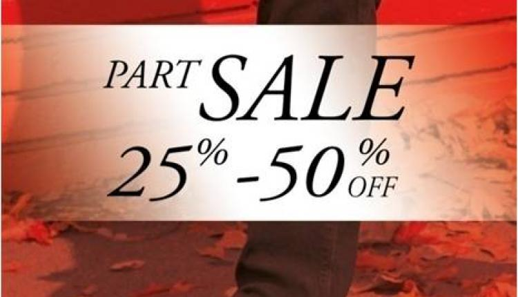 25% - 50% Sale at Rockport, February 2015