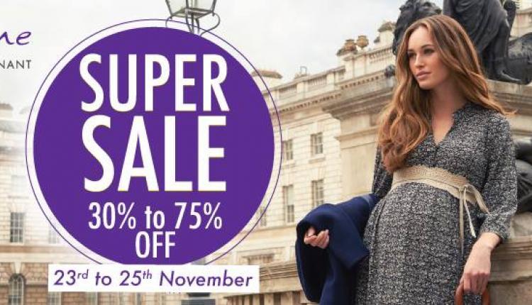 30% - 75% Sale at Séraphine, November 2017