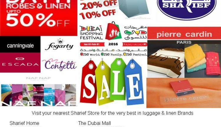 Up to 50% Sale at Sharief Home, February 2016