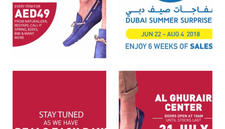Special Offer at Shoe Studio, July 2018