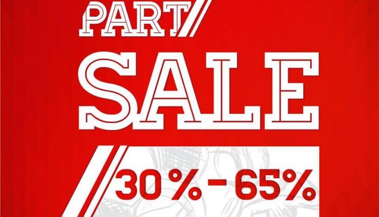 30% - 65% Sale at Sports Market, September 2017