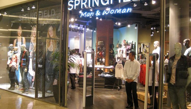 Up to 20% Sale at Springfield, April 2017