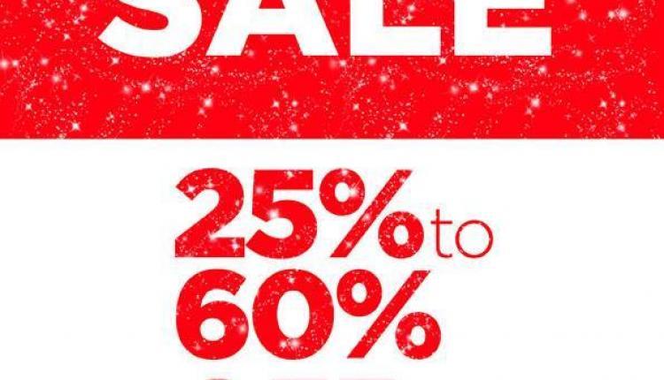25% - 60% Sale at Steve Madden, January 2018