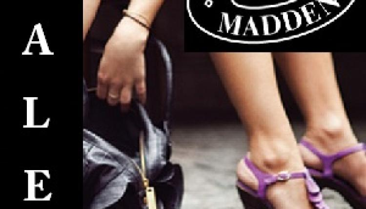 Up to 35% Sale at Steve Madden, March 2018