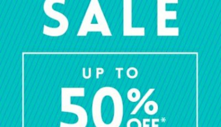 25% - 50% Sale at Steve Madden, May 2018