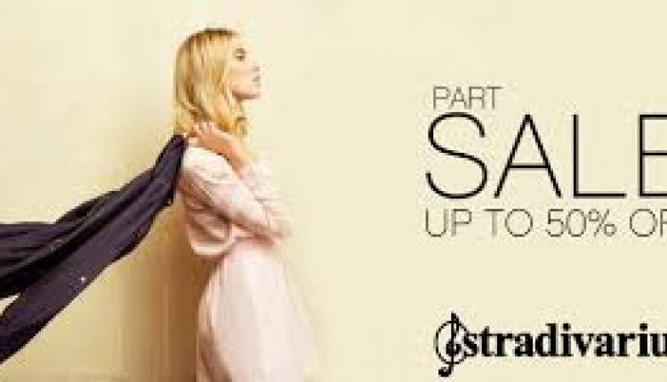 25% - 50% Sale at Stradivarius, February 2016