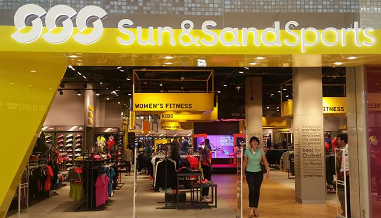 Spend 400 and get AED 100 Off Offer at Sun & Sand Sports, April 2018