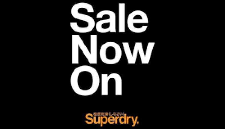 30% - 60% Sale at Superdry, April 2018