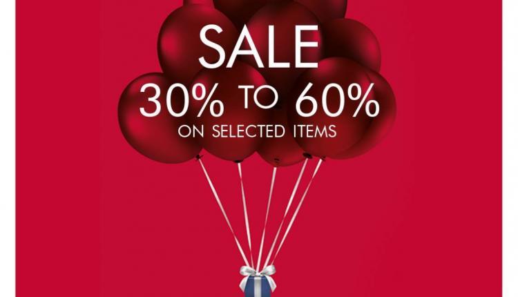 30% - 60% Sale at Swarovski, July 2017