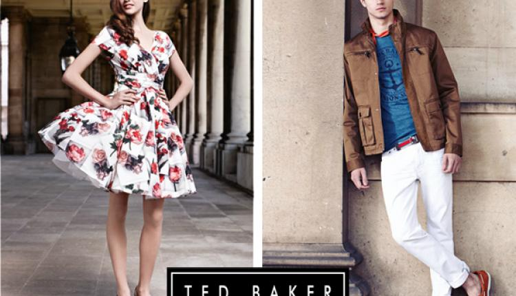 Up to 50% Sale at Ted Baker, January 2018