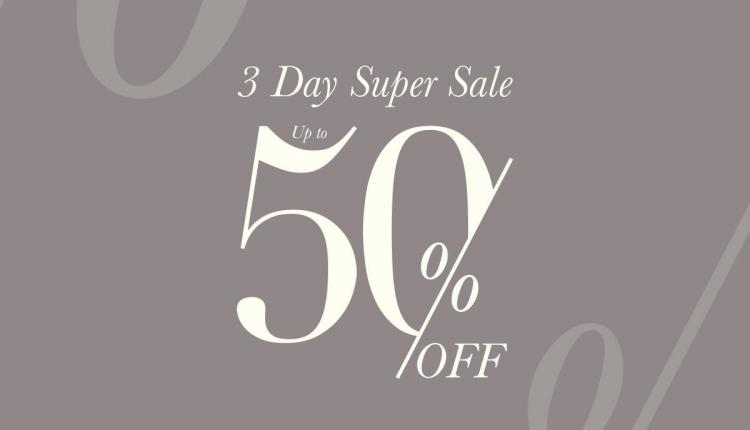 30% - 50% Sale at Ted Baker, May 2018