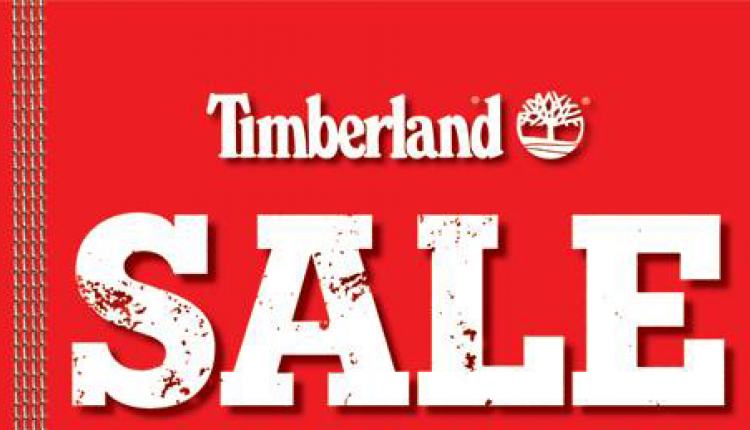 30% - 65% Sale at Timberland, December 2017